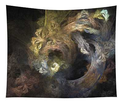 The Mystical Garden - Abstract Art Tapestry