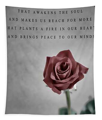The Notebook Love Quote Tapestry