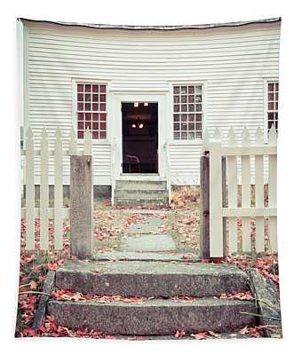 The Old Meeting House Canterbury Shaker Village Tapestry