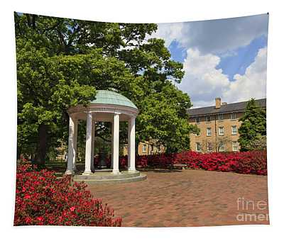 The Old Well At Chapel Hill Campus Tapestry