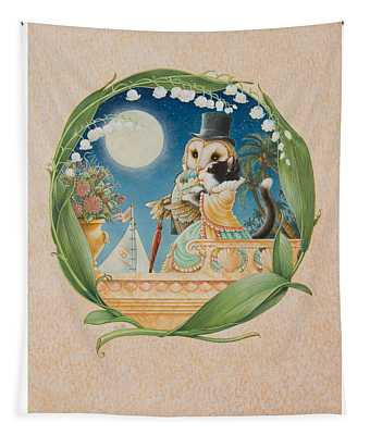 The Owl And The Pussycat Tapestry