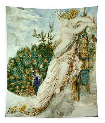 The Peacock Complaining To Juno Tapestry