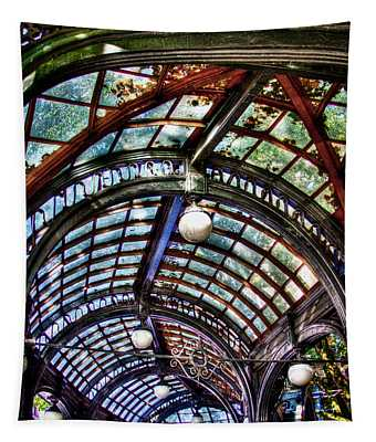 The Pergola Ceiling In Pioneer Square Tapestry