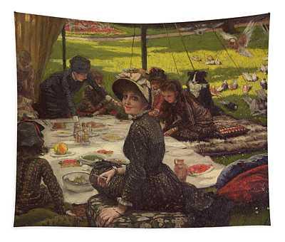 The Picnic Dejeuner Sur Lherbe, C.1881-2 Panel Tapestry
