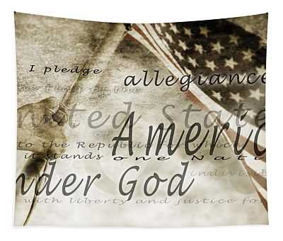 The Pledge Of Allegiance And An Tapestry