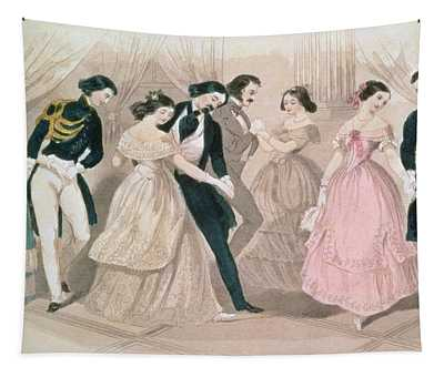 The Polka Fashions Tapestry