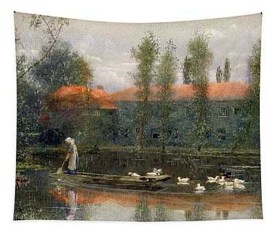 The Pond Of William Morris Works Tapestry