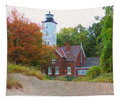 The Presque Isle Lighthouse Tapestry