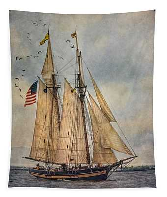 The Pride Of Baltimore II Tapestry