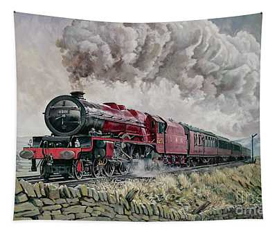 The Princess Elizabeth Storms North In All Weathers Tapestry