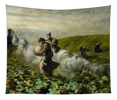 The Pumpkin Harvest Tapestry