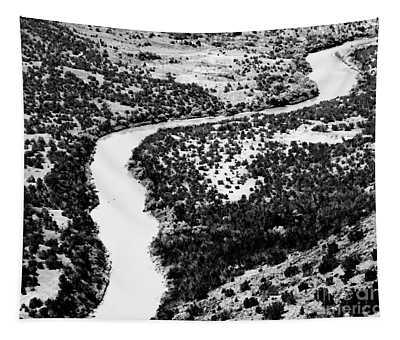 The Rio Grande Bw Tapestry