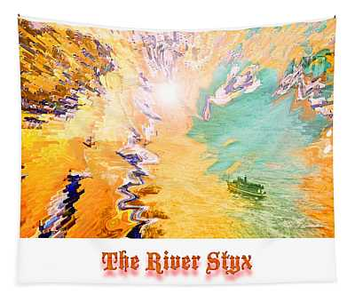 The River Styx Artist Conception Tapestry