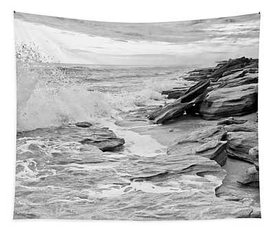 The Rocky Coast Tapestry