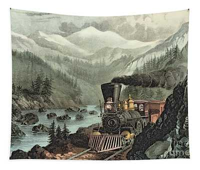 The Route To California Tapestry