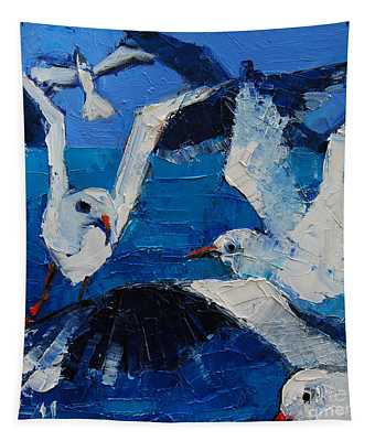 The Seagulls Tapestry