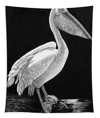 The Sentinel, 2004, (etching/aquatint) Tapestry