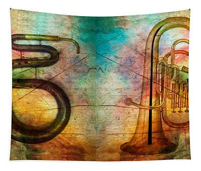 The Serpent And Euphonium -  Featured In Spectacular Artworks Tapestry