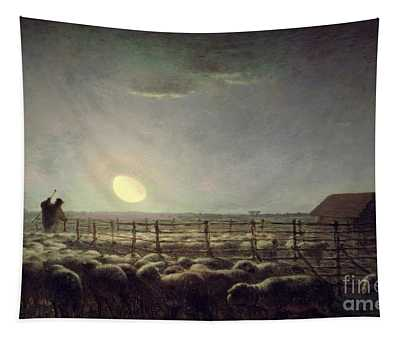 The Sheepfold   Moonlight Tapestry