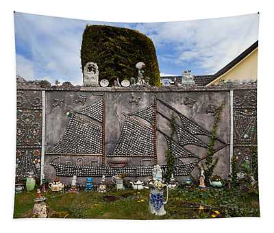 The Shell Cottage In Abbeyside Tapestry