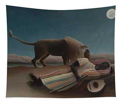 The Sleeping Gypsy Tapestry