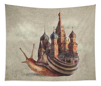 The Snail's Daydream Tapestry
