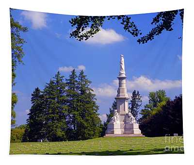 The Soldiers Monument Tapestry