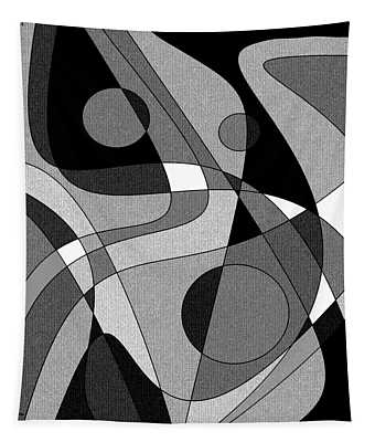 The Soloist - Black And White Tapestry