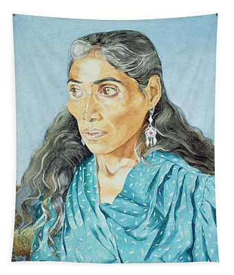 The Soothsayer, 1986 Oil On Canvas Tapestry