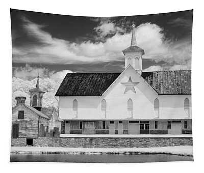 The Star Barn - Infrared Tapestry