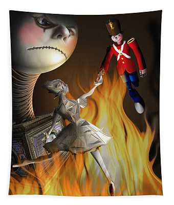 The Steadfast Tin Soldier ...the Envy... Tapestry