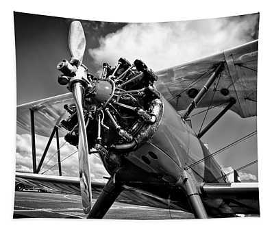 The Stearman Biplane Tapestry