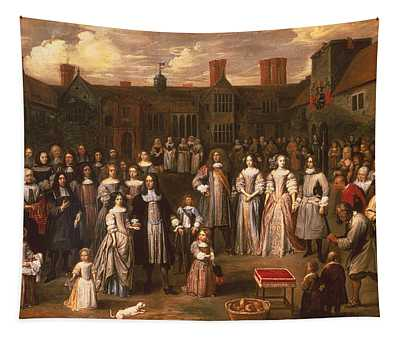 The Tichborne Dole, 1671 Tapestry