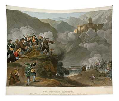 The Tirolese Patriots Storming Tapestry