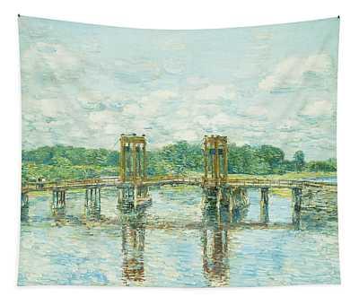 The Toll Bridge New Hampshire Tapestry