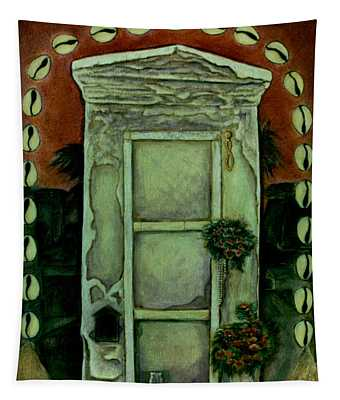 The Tomb Of Marie Laveaux Tapestry