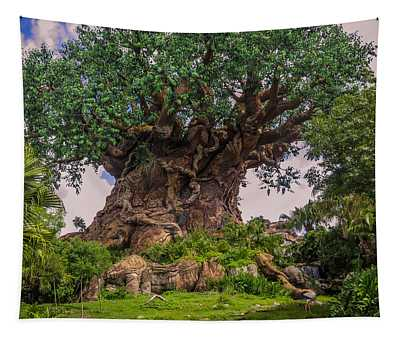 The Tree Of Life Tapestry