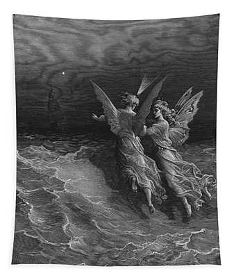 The Two Fellow Spirits Of The Spirit Of The South Pole Ask The Question Why The Ship Travels  Tapestry