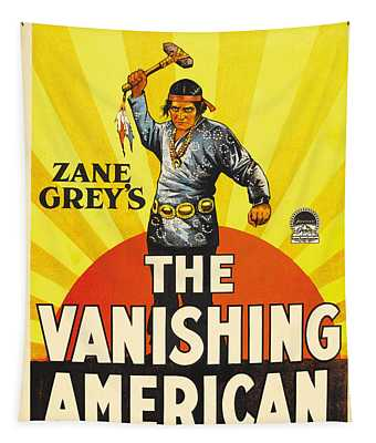 The Vanishing American 1925 Tapestry