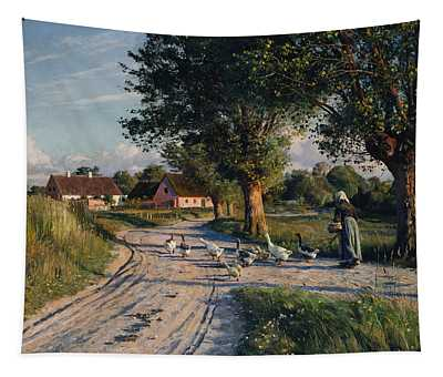 The Way Home Tapestry