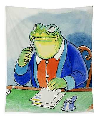 The Wind In The Willows Toad Composing A Letter Tapestry