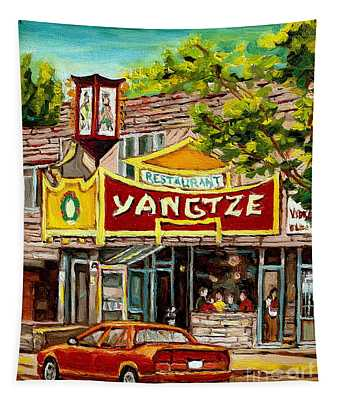 The Yangtze Restaurant On Van Horne Avenue Montreal  Tapestry