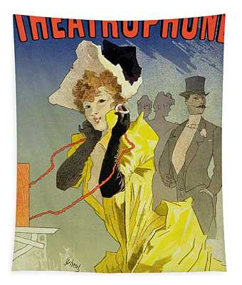 Theatrophone Poster Tapestry