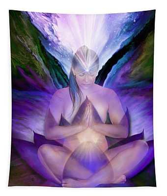 Third Eye Chakra Goddess Tapestry
