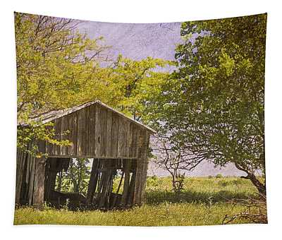 This Old Barn Tapestry