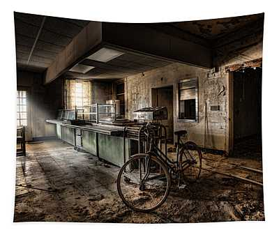 This Would Be The End - Cafeteria - Abandoned Asylum Tapestry