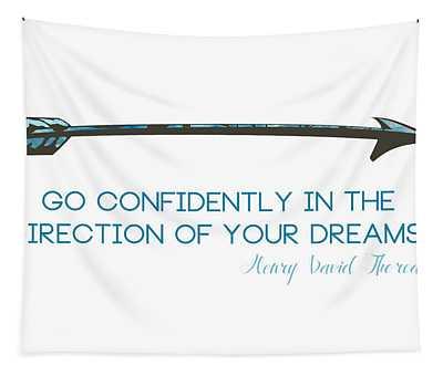 Thoreau Arrow Tapestry