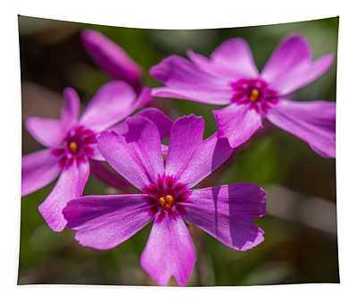Three Flowers Tapestry