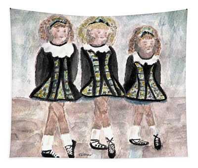 Three Irish Lasses Tapestry