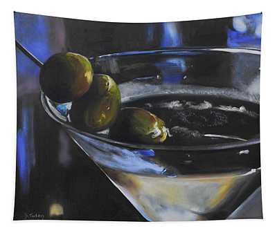Three Olive Martini Tapestry